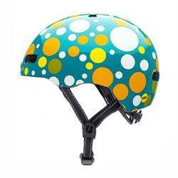 Nutcase Street Polka Face Gloss Mips | set fra venstre side